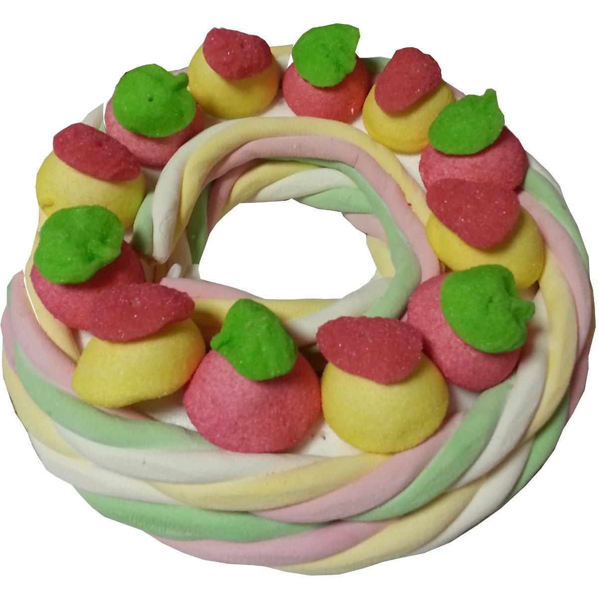 Couronne de bonbons