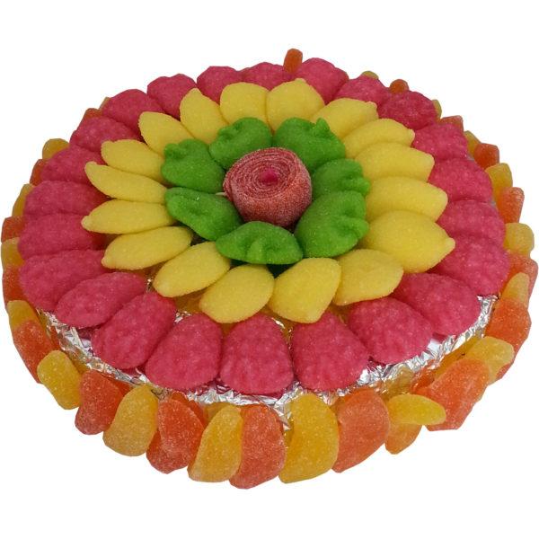 Tarte aux fruits de bonbons