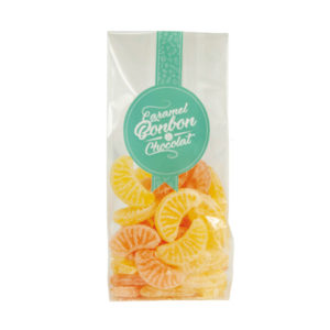 Sachet tranche citron orange