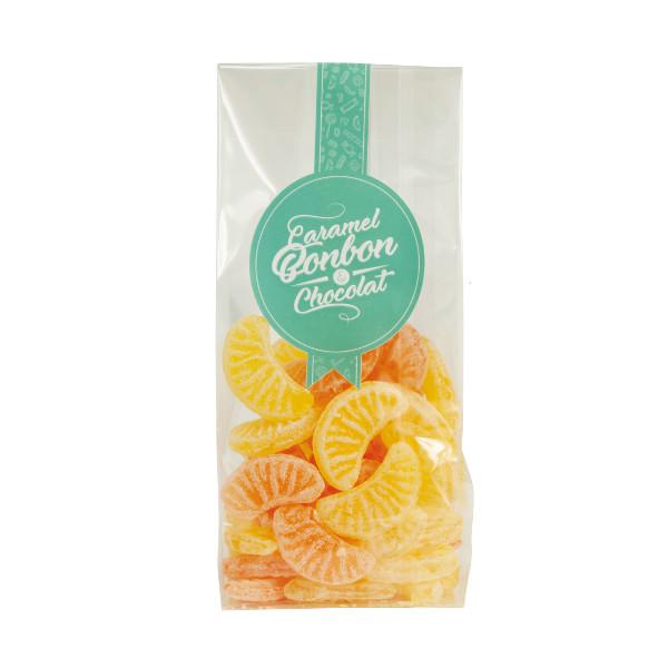 Sachet tranche citron orange
