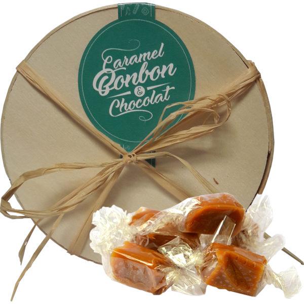 Boite camembert de caramels