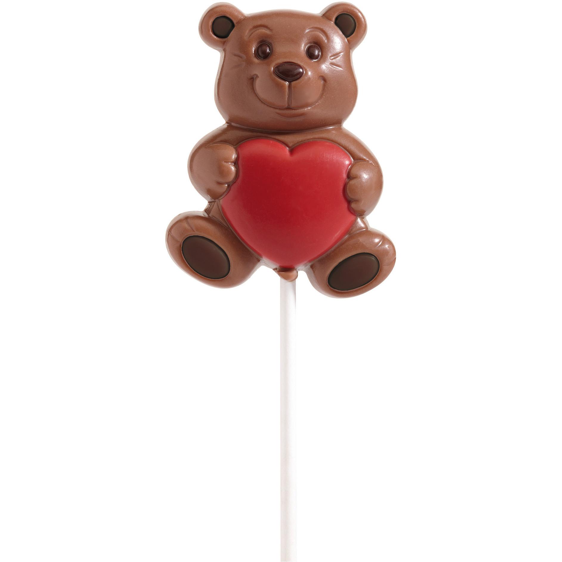 LP81KMD Lollipops belfine chocolat Ourson coeur 1