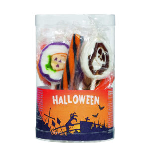 tubo sucre d'orge sucette rock halloween
